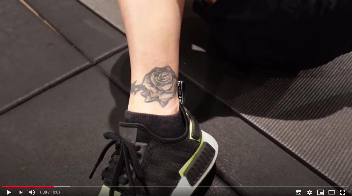 【YouTuber】#手越祐也 足首のタトゥー公開   デザインの意味明かす「人生ノリだからさ」  [muffin★]