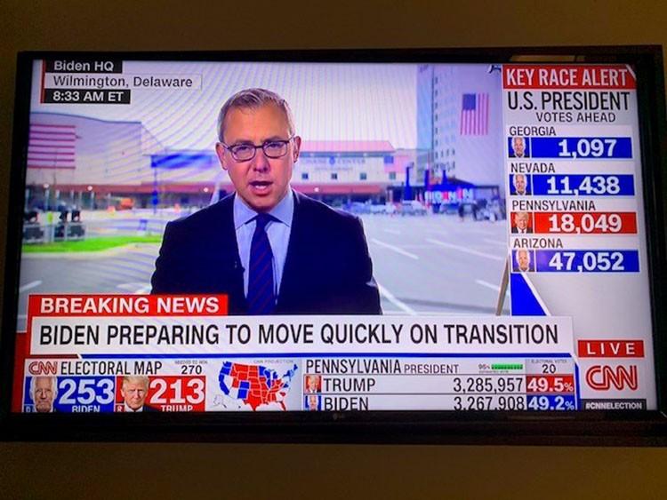 【米大統領選】米テレビのあからさまな肩入れ報道 NYでCNNとFOXを見続けて感じた深刻な危機(GLOBE+)  [首都圏の虎★]