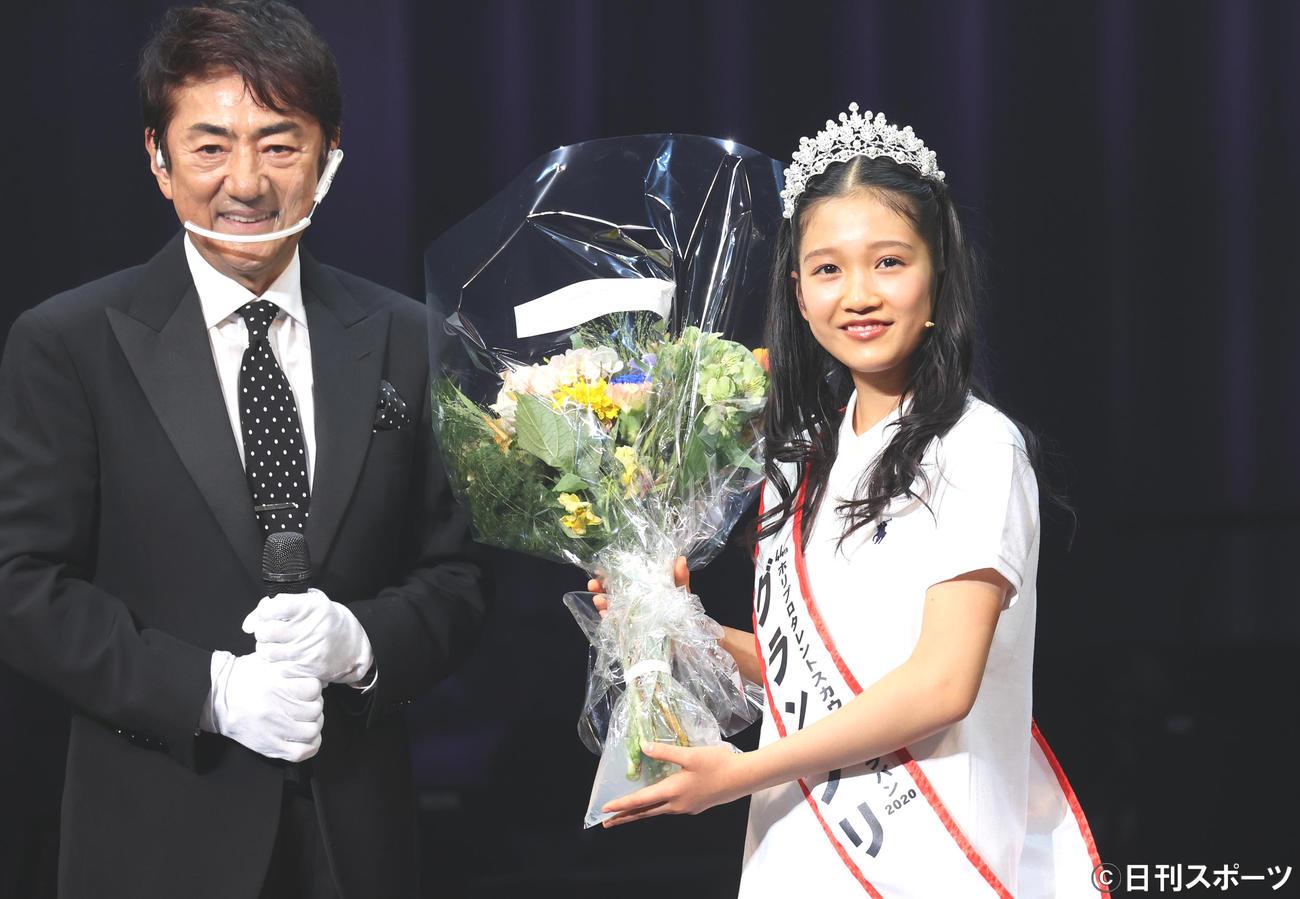 第44回ホリプロタレントスカウトキャラバングランプリ中学2年生山崎玲奈さん(13)