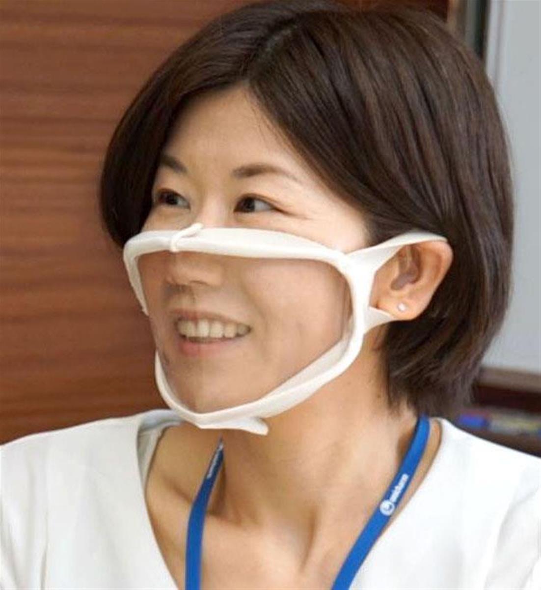 【新製品】ユニ・チャームから口元が透明なマスク「顔が見えマスク」発売  [記憶たどり。★]