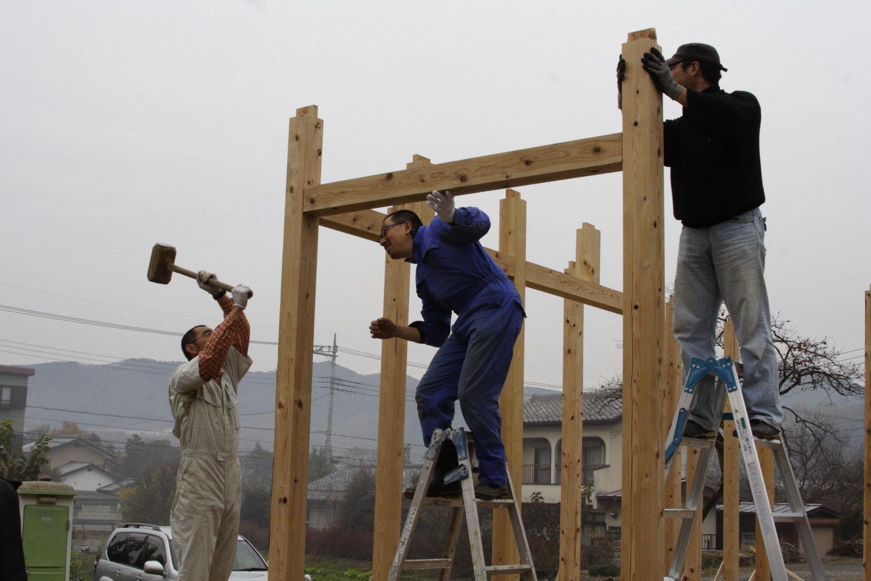 自分でマイホーム建設 原価は560万円!(工期6年) プロ施工より1500万安い ★3  [雷★]