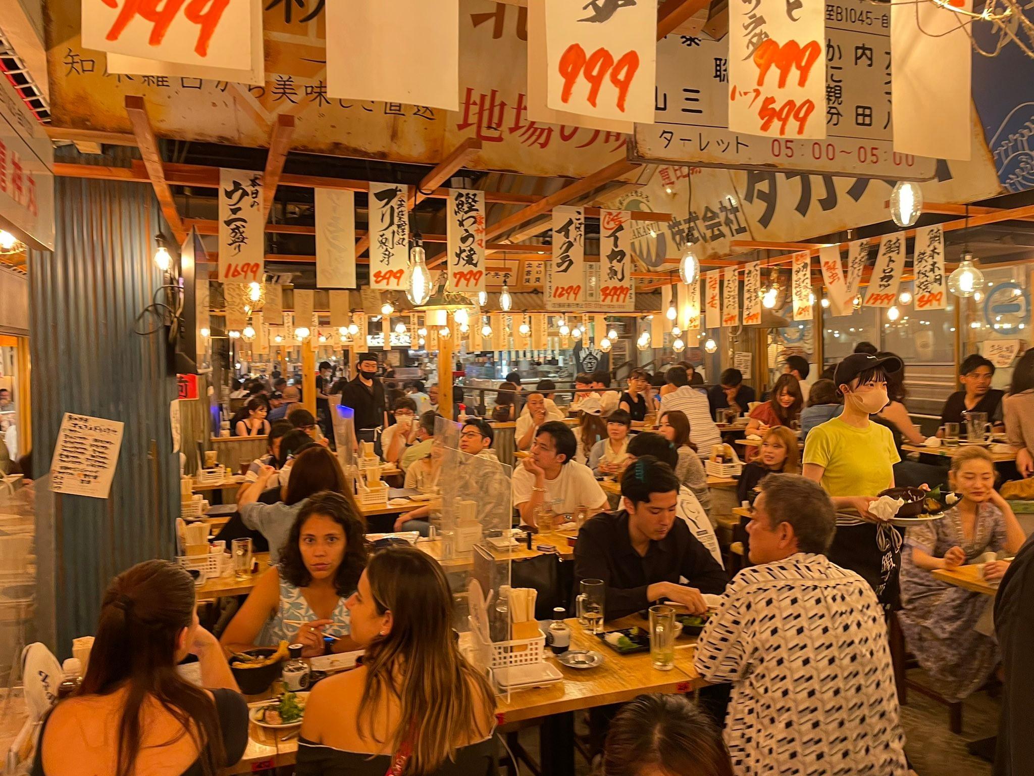 【悲報】東京民、4000人超えた日に居酒屋で大騒ぎしてる様をワシントンポスト記者に撮影され世界に公開される